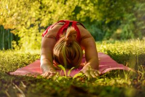 Simple yoga exercises twice a day could help draw out of your funk