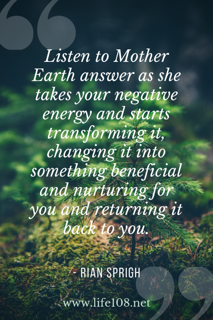 Listen to Mother Earth