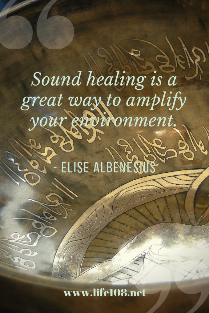 Sound healing to amplify your environment