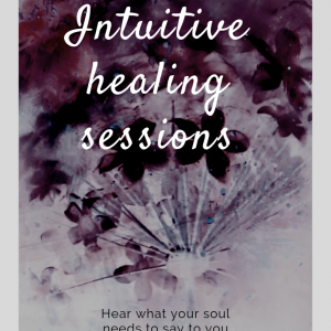 Intuitive healing session – 30 mins