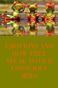 Emotions and how they speak to our Conscious Mind