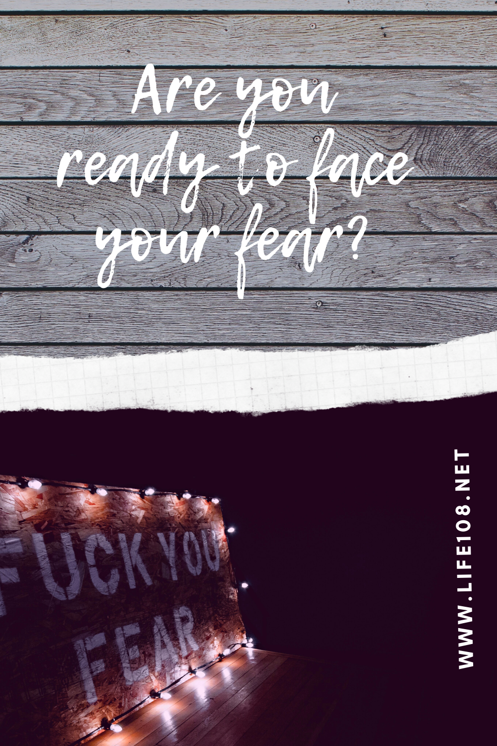 Are you ready to face your fear?